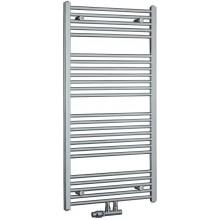 KORADO KORALUX LINEAR EXCLUSIVE - M koupelnový radiátor 900/600, spodní středové připojení, chrom
