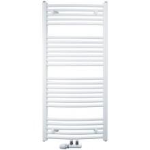 KORADO KORALUX RONDO COMFORT - M koupelnový radiátor 700/750, spodní středové připojení, bílá RAL9016