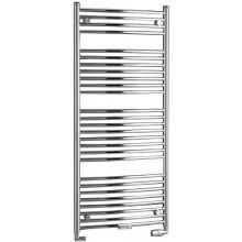 P.M.H. DANBY D3 koupelnový radiátor 940/750, středové připojení, metalická stříbrná lesk