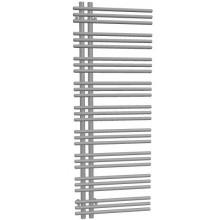 ZEHNDER YUCCA ASYM designový radiátor 400/1300, jednořadý, připojení shora/zdola, chrom