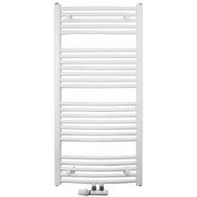 CONCEPT 100 KTOM koupelnový radiátor 740/600, středové připojení, bílá RAL9016
