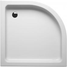 RIHO 210 sprchová vanička 90x90cm čtvrtkruh, včetně panelu a nožiček, akrylát, bílá