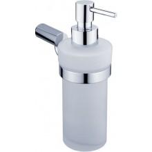 NIMCO BORMO dávkovač 250ml, na tekuté mýdlo, chrom/sklo