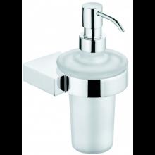 KLUDI A-XES dávkovač tekutého mýdla 175mm, chrom/sklo