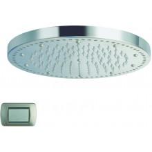CRISTINA SANDWICH COLOURS sprcha hlavová s osvětlením, Antikalk-systém, průměr 24cm light white