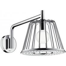 HANSGROHE AXOR LAMPSHOWER 1JET horní sprcha 275mm, se sprchovým ramenem, chrom