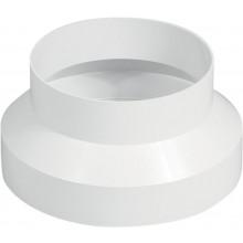 HACO RP 100/125 ventilační systém prům. 100/129mm, redukce plastová, bílá