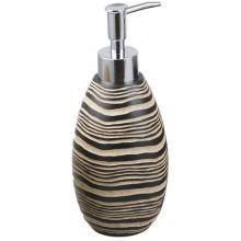 Doplněk dávkovač AWD Mateo tekutého mýdla 360 ml vzhled dřeva