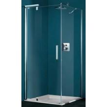 Zástěna sprchová dveře Huppe sklo Refresh pure 800x2043mm stříbrná lesklá/Sand Plus AP
