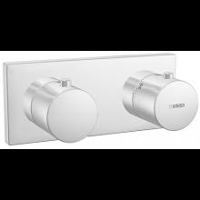 HANSA MATRIX sprchová baterie 175x75mm, podomítková termostatická, chrom