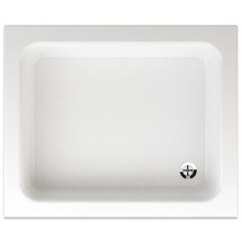 TEIKO ODEON sprchová vanička 90x75x15cm, obdélník, akrylát, bílá