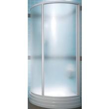 RAVAK SUPERNOVA SKKP2-90 sprchový kout 900x900x1850mm, kruhový, posuvný, dvoudílný, bílá/rain