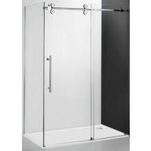 ROLTECHNIK KINEDOOR LINE KIB/1000 boční stěna 1000x2000mm, bezrámová, brillant/transparent