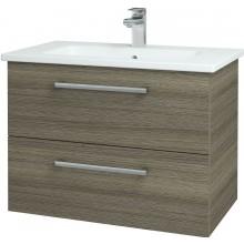 DŘEVOJAS GIO 80 FC koupelnová sříňka 560x450x740mm, vč. umyvadla Myjoys 80, D03 cafe