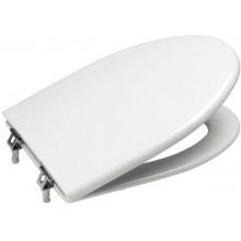 Sedátko WC Roca duraplastové s kov. panty America Soft Close  bílá