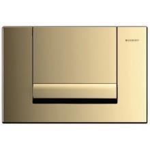 GEBERIT TANGO ovládací tlačítko 24,6x16,4cm, mosazná 115.760.DT.1