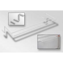 GOZ METAL sušák 600x250x100mm na deskový radiátor, komaxit bílý DROT4