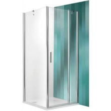 ROLTECHNIK TOWER LINE TDO1/900 sprchové dveře 900x2000mm jednokřídlé, brillant/transparent