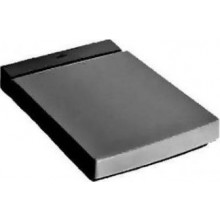 VILLEROY & BOCH MEMENTO klozetové sedátko 365mm, s poklopem Soft Closing, Glossy Black CeramicPlus