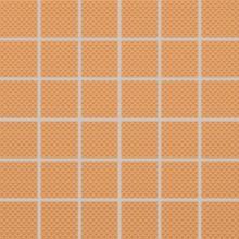 RAKO COLOR TWO mozaika 30x30cm, tmavě oranžová