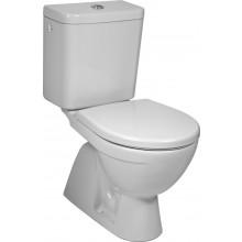 WC kombinované - odpad svislý Concept, dvojčinné  bílá