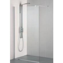 IDEAL STANDARD SYNERGY WETROOM sprchová stěna 100x202,5xm vstup z obou stran, Silver Bright/sklo L6224EO