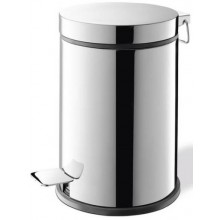 ZACK VASCA odpadkový koš 27cm, Ø18cm, vysoký, nerez ocel