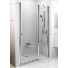 RAVAK CHROME CSD2 100 sprchové dveře 975-1005x1950mm dvoudílné bílá/transparent 0QVAC100Z1