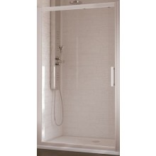 IDEAL STANDARD SYNERGY dveře posuvné 1000x1900mm, 2dílné, sklo, lesklá stříbrná