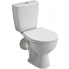 WC kombinované Kolo odpad vodorovný Rekord  62,5 cm bílá