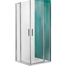 ROLTECHNIK TOWER LINE TDO1/900 sprchové dveře 900x2000mm jednokřídlé, bezrámové, stříbro/transparent
