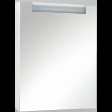 LEBON ELEMENTS B zrcadlová skříňka 50x13x69cm s osvětlením, pravá, bílá
