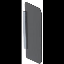 GEBERIT dělící stěna pro pisoáry 49,6x4x80cm, hranatá, šedá