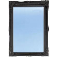 HERITAGE BALHAM zrcadlo 660x910mm onyx black/sklo/dřevo