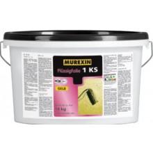 MUREXIN 1 KS těsnící fólie 14kg, jednosložková, tekutá, trvale pružná, žlutá