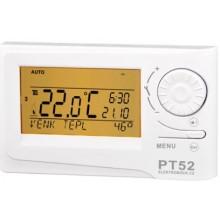 ELEKTROBOCK PT52 termostat 5-85°C s OpenTherm komunikací, týdenní, bílá