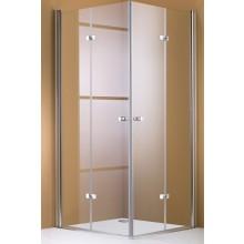 Zástěna sprchová dveře Huppe sklo 501 Design 1200x1200 mm stříbrná lesklá/čiré+AP