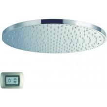 CRISTINA SANDWICH COLOURS sprcha hlavová s osvětlením, Antikalk-system, průměr 40cm chrom