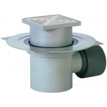 HL podlahová vpust DN75/110, s vodorovným odtokem, polypropylen