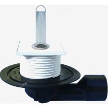 HL podlahová vpust DN50/75 s variabilním odtokem, polypropylen/polyetylen