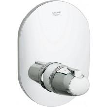 Ventil podomítkový Grohe termostatický Grohtherm 3000 centrální, vrchní díl 210x150mm chrom