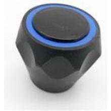 "HARTMAN rukojeť 1/2"", k vodovodní baterii, na tisícihran, plast, černá/modrá"