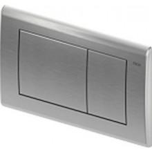 TECE PLANUS ovládací tlačítko 214x144mm, dvoumnožstevní splachování, nerezová ocel broušená