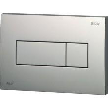 EASY EAT3.002 ovládací tlačítko 247x165mm, pro předstěnové instalační systémy, plast, chrom/mat