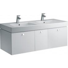 Umyvadlo nábytkové Ideal Standard s otvorem Ventuno dvojumyvadlo 130x54 cm bílá