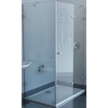 RAVAK GLASSLINE GSDPS-110/80 R 200 sprchové dveře 1100x800x2000mm, s pevnou stěnou, chrom/transparent