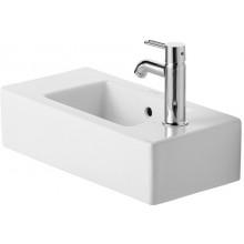 Umývátko klasické Duravit s otvorem Vero otvor vlevo 50x25 cm bílá wondergliss