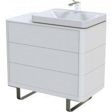 TOTO SG skříňka pod umyvadlo 890x500mm 3 zásuvky, highgloss white, FU10723L-MT