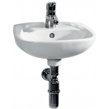 EASY umývátko 405x340mm, s otvorem, bílá