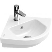VILLEROY & BOCH SUBWAY 2.0 rohové umývátko 455x380x135mm, bílá Alpin